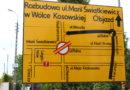 Zamknięcie skrzyżowania w Wólce Kosowskiej, zawieszenie linii 721