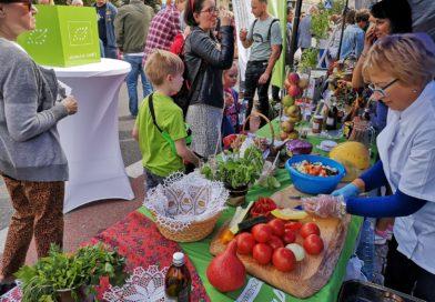 W Piasecznie smakowano żywność ekologiczną