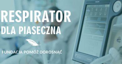 Respirator dla Piaseczna