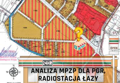 Analiza Miejscowego Planu Zagospodarowania Przestrzennego dla części obrębu PGR, Radiostacja Łazy – Odcinek 1 – Sklep