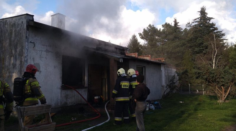 Pomoc dla Ireny Adamskiej po pożarze domu